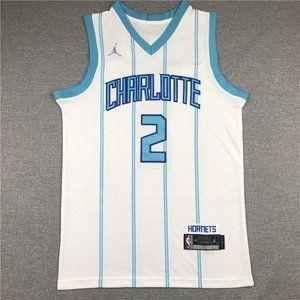 2021 Charlotte Hornets #2 LaMelo Ball White Jersey